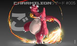 005 Charmeleon by gillpanda