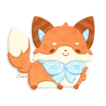 [CLOSED] 1 Point Auction ~ Paper Fox by Sarilain