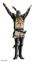 Dark Souls: Solaire by MenasLG