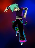 Rave Vampire Boy by Rin-Claymore