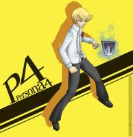 Persona 4 - Teddie by AquaWaters