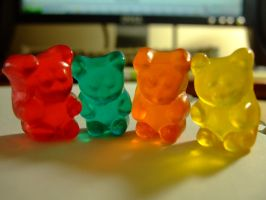 Gummy Bears by euniceesh