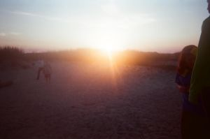 Volly Ball and Sunset by CrazyCousins