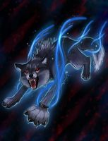 Noctis Wolf form- Request by KT-245