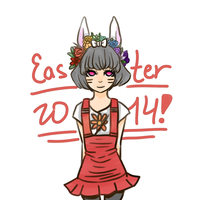Easter 2014 by LuvScissors