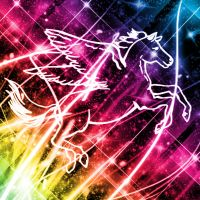 Rainbow Pegasus by Holly6669666