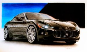 Maserati by SteveElefant