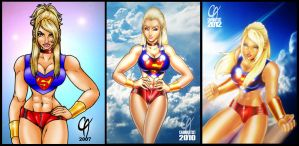 Supergirl Test 2007-2012 by Cahnartist