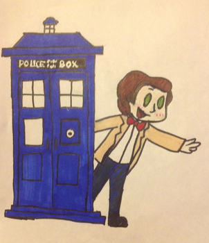 Doctor Who by Artdirector123