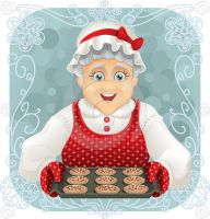 Granny Baked Some Cookies by nicoletaionescu