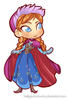 Chibi Anna by Blatterbury