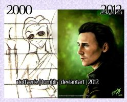 Then and Now 2012 by riotfaerie