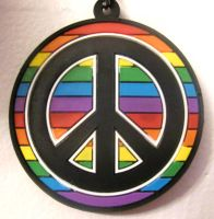 PeaceLoveRainbows by RanebowStitches