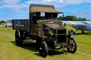 Hallford 3 CWT GS lorry by Daniel-Wales-Images