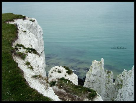 White Cliffs of Dover by AirInMotion