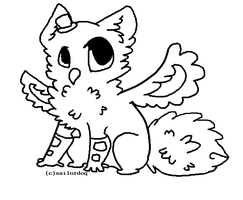 griffin lineart .free!. by sailordoq