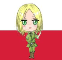 APH - Feliks - Chibi Poland by NightmareTease