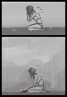Raining by Shik-s