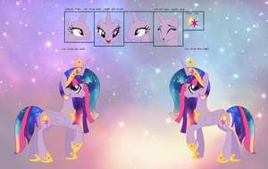 Princess Solar Sparkle Reference Sheet by NightmareLunaFan