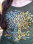 Two Trees of Valinor Silkscreen Shirt by Draikairion