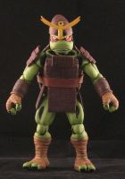 Turtles in Time Samurai Raph by plasticplayhouse