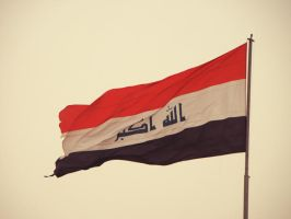 Iraq Flag by Ahmed-ALSamraee