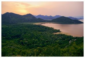 Lake Skadar by DSent