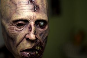 zombie half mask by masocha