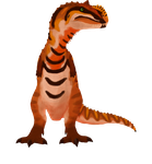 Beach boy Majungasaurus png by ZeWqt