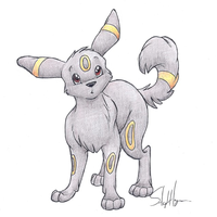 Umbreon by sleighbelles