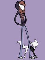 Slendergirl and Slendercat request by FillyBlue