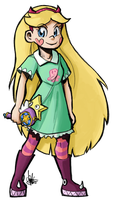 Star Butterfly by TheArtrix