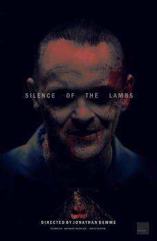 Silence of The Lambs fan poster by crqsf