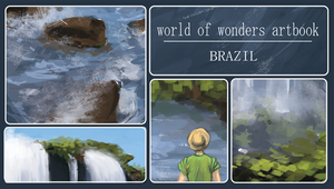World of Wonders Artbook Brazil by Ayayou