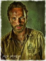 The Walking Dead: Rick: BuzSim Paint Re-Edit by nerdboy69