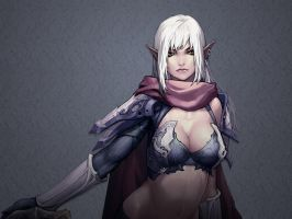 dark elf wallpaper by schlussel