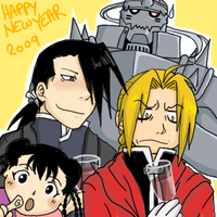 FMA New Year 2009 by Duelistabbeyryou