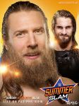 WWE SummerSlam 2015 Poster by TheReller