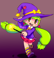 Lil Witch by gammanaut