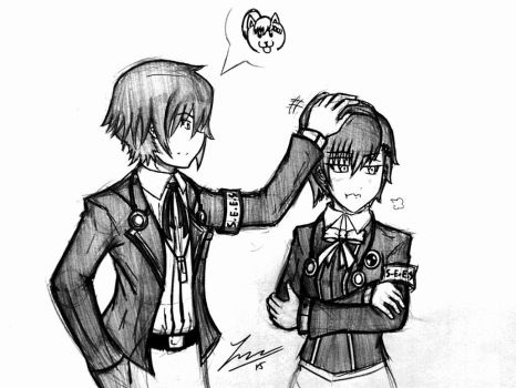 When Your Hair Reminds Someone of a Dog - P3P by ExusiaSword
