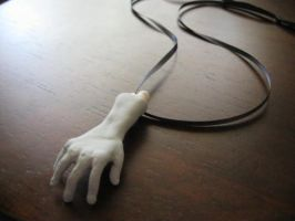 Zombie Hand Pendant - Right by martiowlsten