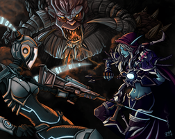 Heroes of the Storm - Contest Entry by EdMoffatt