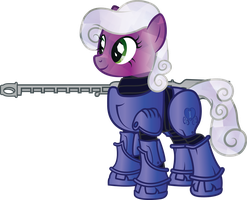 Fallout Equestria: Storm Chasers - Amathyst by geekladd
