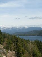 View of Donner Lake by Earthmagic