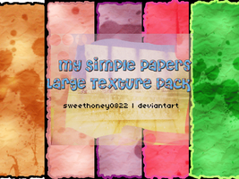 My Simple Papers Textures by sweethoney0822