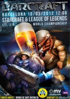 Starcraft 2 Event A1 Poster by lKaos