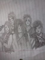 BVB Doodle by Anna-Kidd