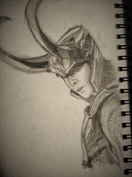 LOKI by YourInnermostDemon