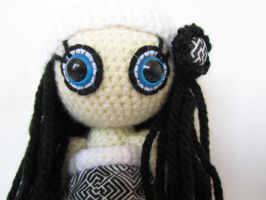 Black and white doll 2 by KooKooCraft