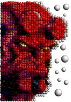 Hellboy Mosaic by Cornejo-Sanchez